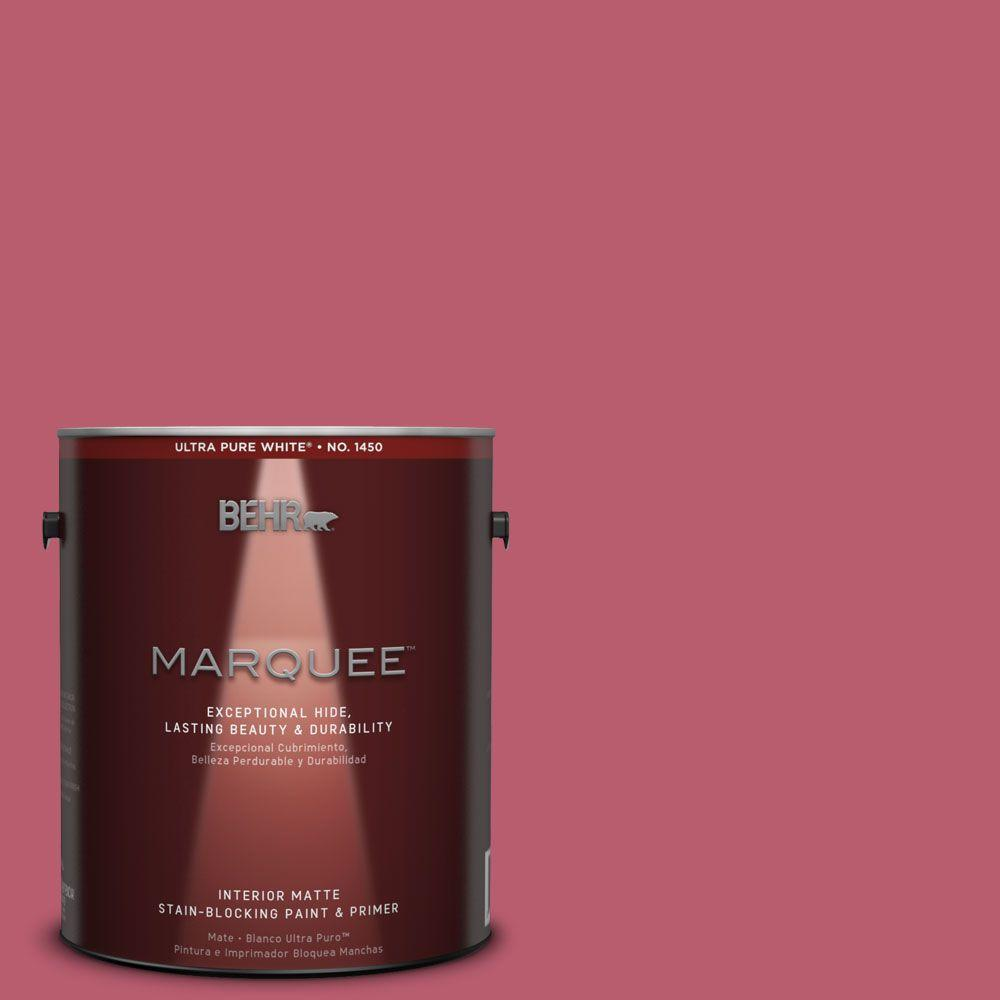 BEHR MARQUEE 1 gal. #MQ1-6 Sensuous One-Coat Hide Matte Interior Paint