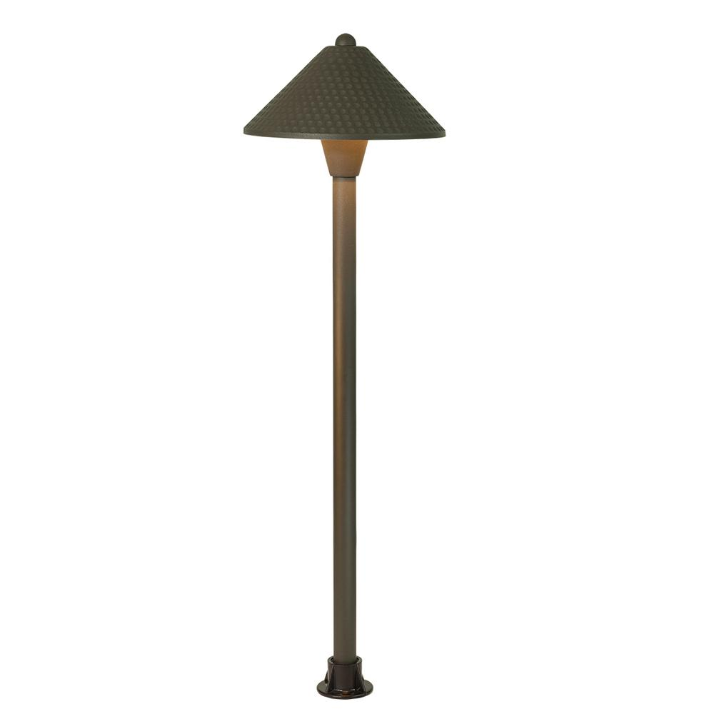 4-Watt Antique Bronze Integrated LED Landscape Path Light