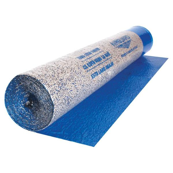 Roberts Airguard 100 Sq Ft 40 In X 30 Ft X 2 Mm 5 In 1 Underlayment With Microban For Laminate And Engineered Wood Floors 70 105 The Home Depot