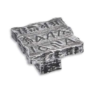 Impala 1.95 in. Antique Silver Drawer Knob