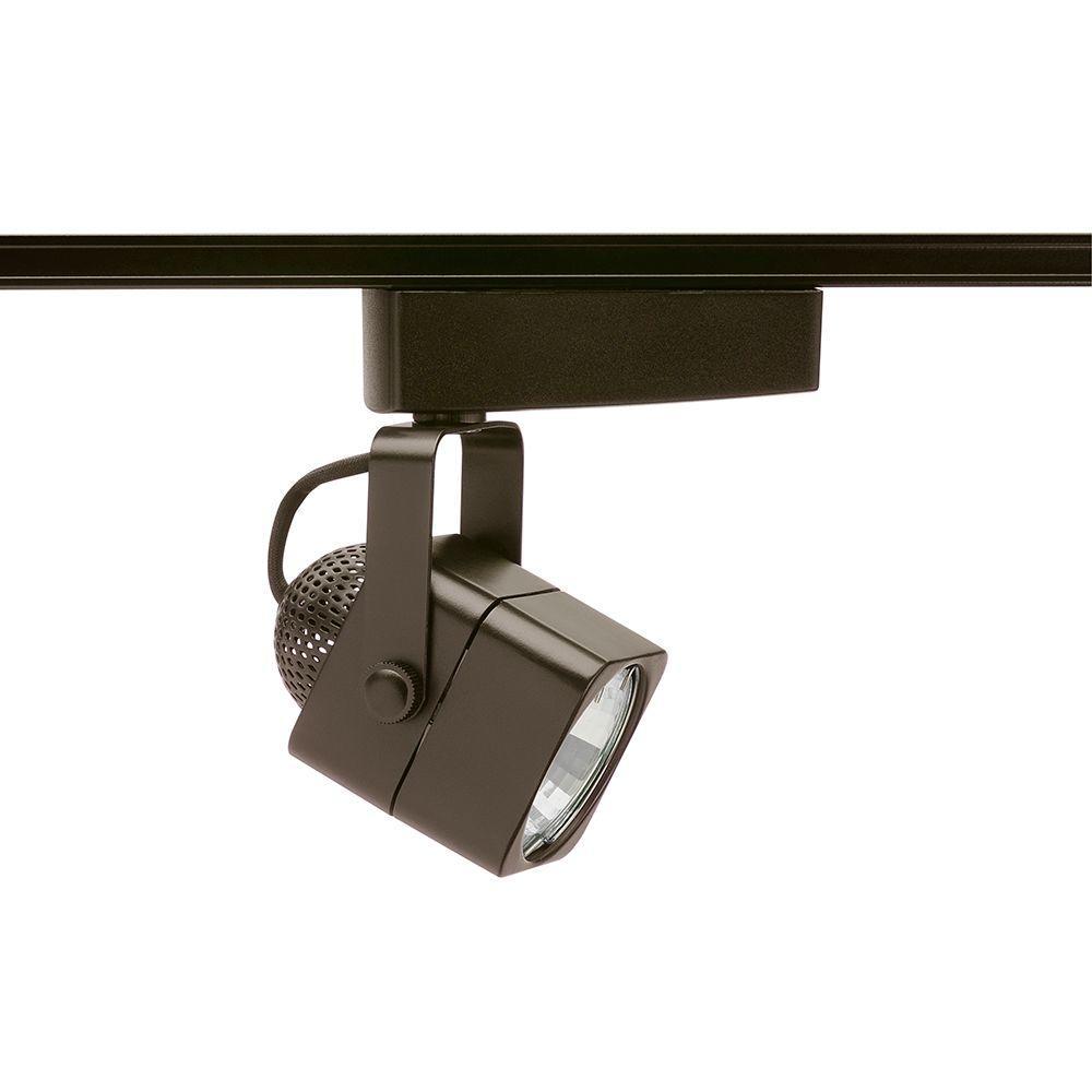 Trac-Lites Low-Voltage Bronze Cast Cube Light