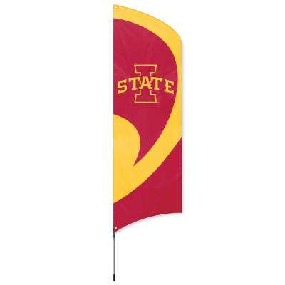 Iowa State Cyclones Tall Team Flag