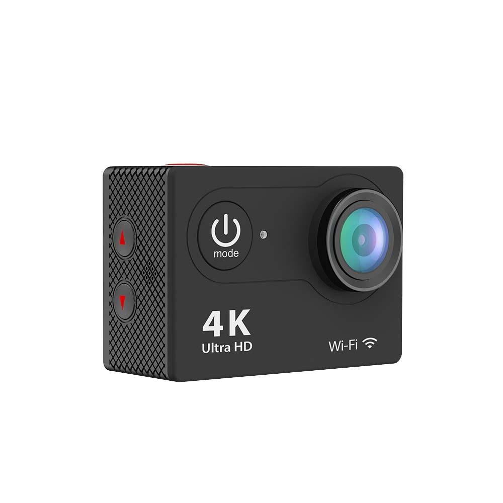 iPM 4K Waterproof 12 Mega Pixel Ultra HD Action Camera with Wi-Fi in Black