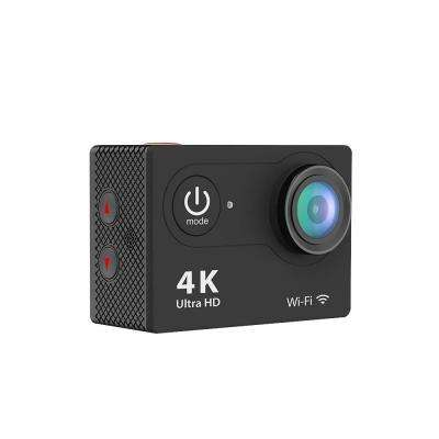 4K Waterproof 12 Mega Pixel Ultra HD Action Camera with Wi-Fi in Black