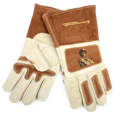 Forney 55200 Premium Lined Cowhide Welding Gloves Large 1 pk