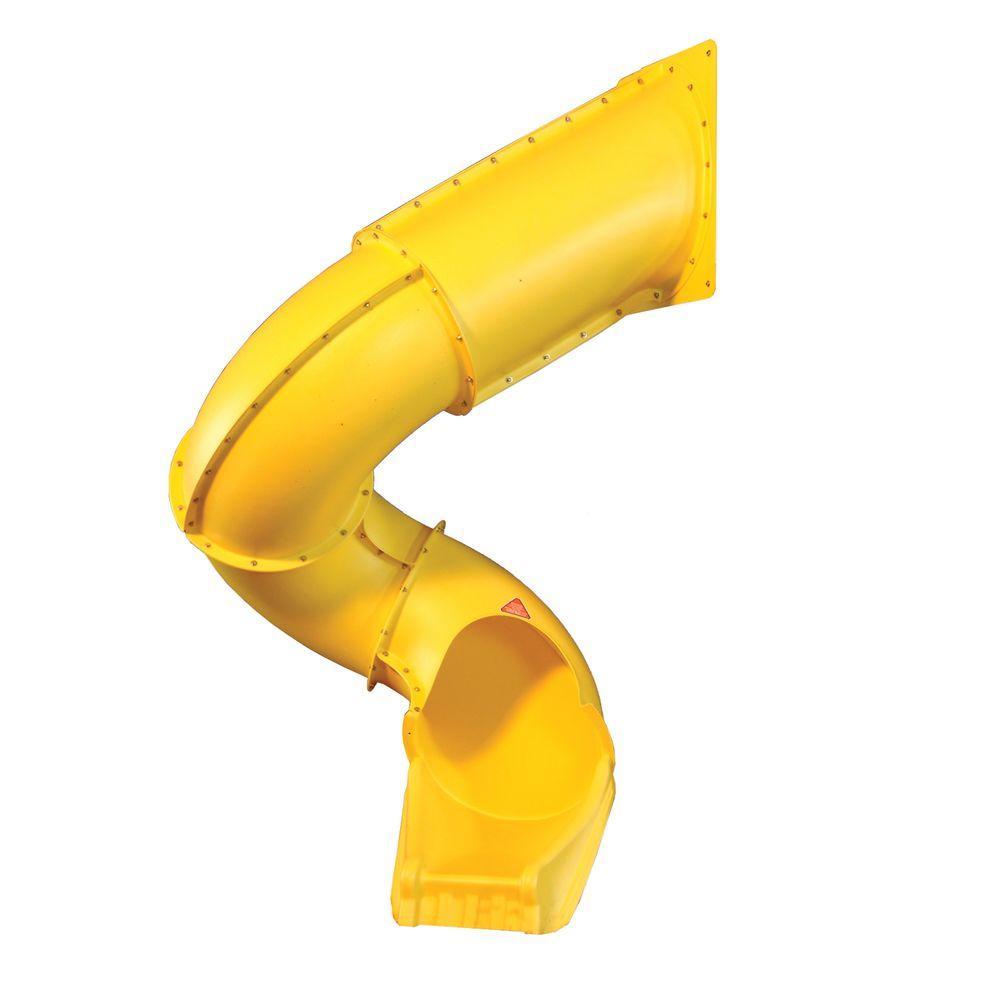 Swing-N-Slide Playsets Yellow Turbo Tube Slide-NE 4405 ...
