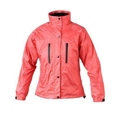 Ladies RX X-Large Salmon Rain Jacket