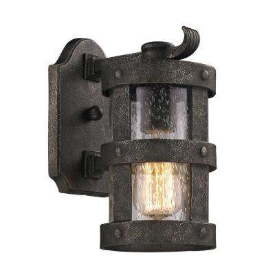 Barbosa Barbosa Bronze Outdoor Wall Mount Sconce
