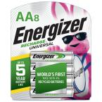 Recharge Universal Rechargeable AA Batteries (8 Pack), Double A Rechargeable Batteries