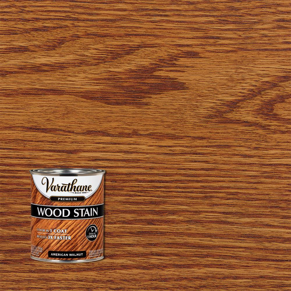 Varathane 1 qt. American Walnut Premium Fast Dry Interior Wood Stain (2-Pack)