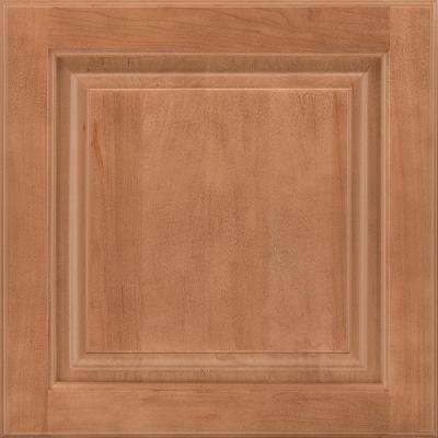 14-9/16x14-1/2 in. Cabinet Door Sample in Portola Maple Spice