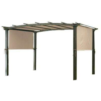 Universal Replacement Canopy Top Cover in Beige for Metal Pergola Frame