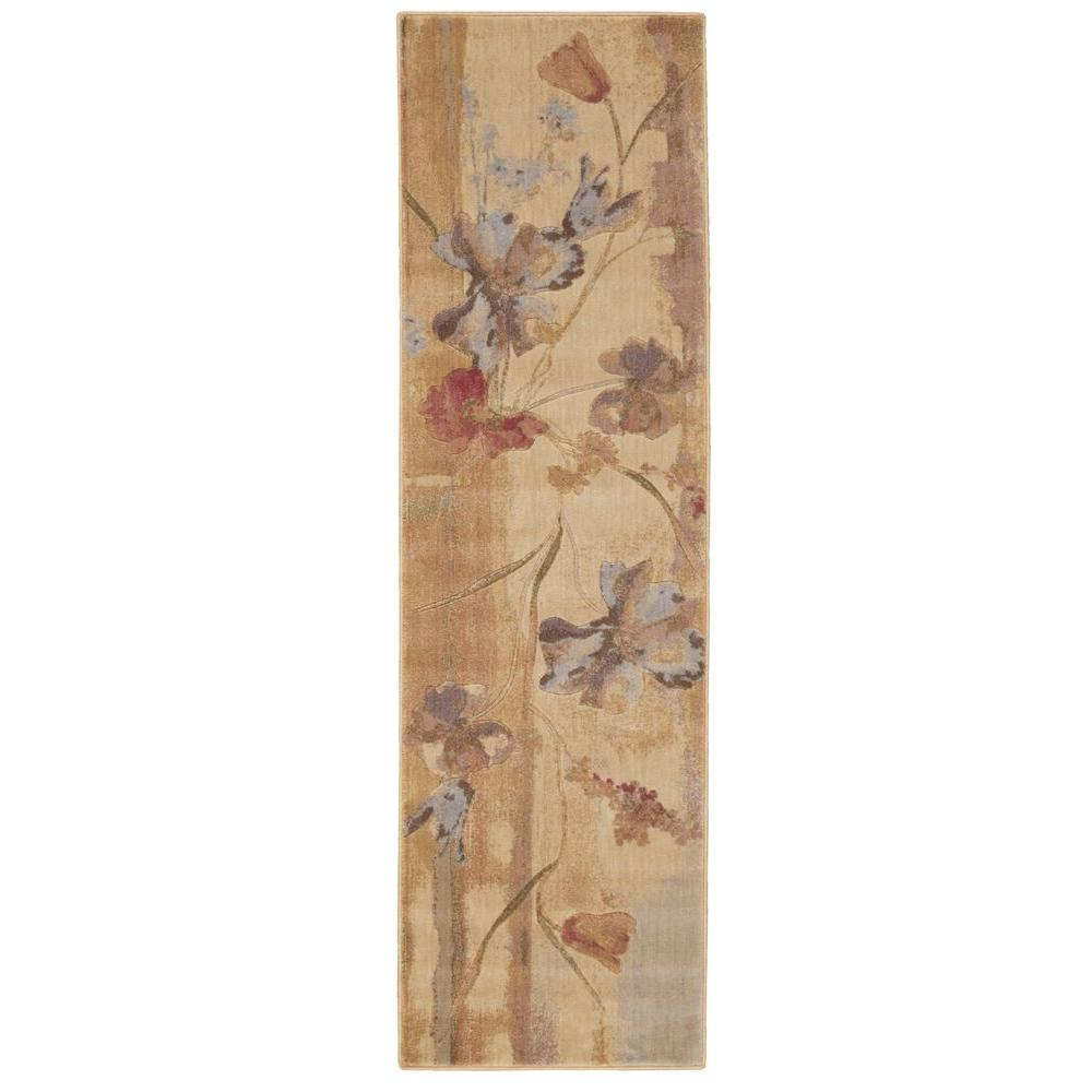 Somerset Beige 2 ft. 3 in. x 8 ft. Rug Runner