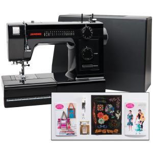 Janome HD1000 Black Edition Industrial-Grade Sewing Machine by Janome