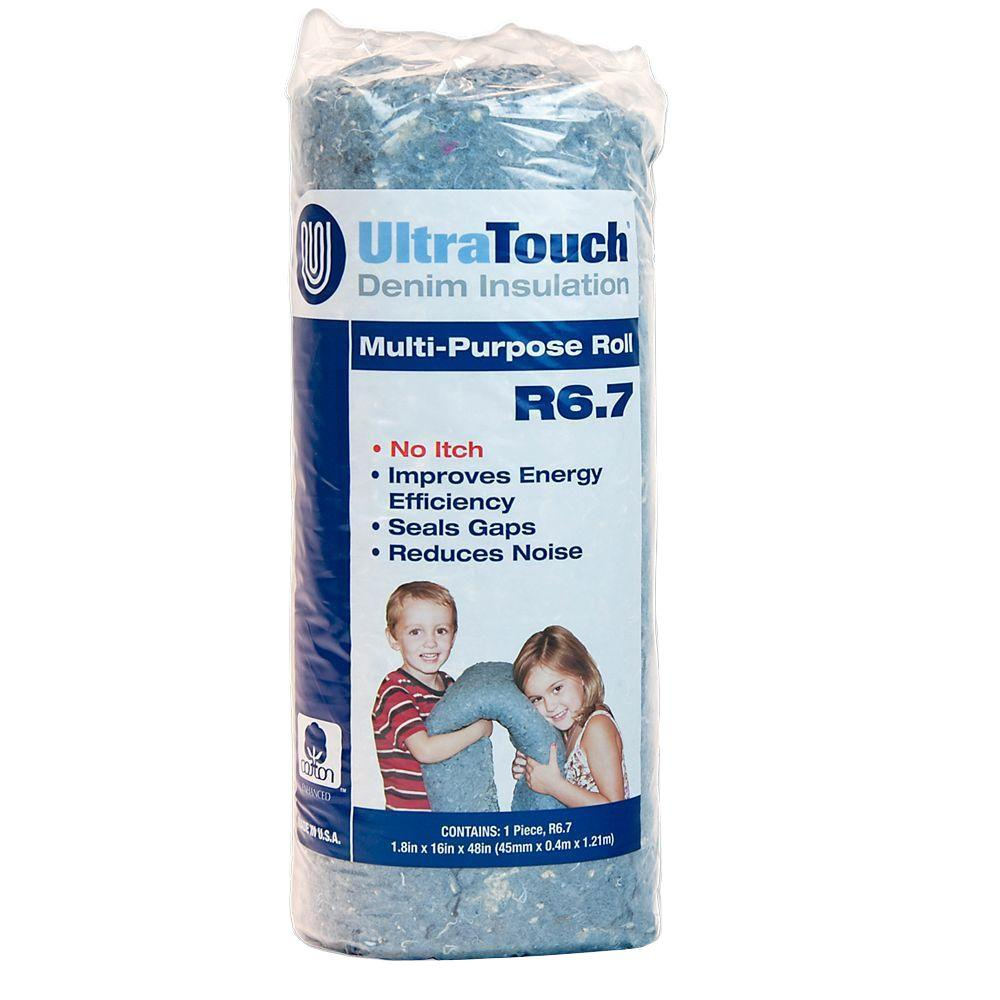 UltraTouch 16 in. x 48 in. Denim Insulation Multi-Purpose Roll