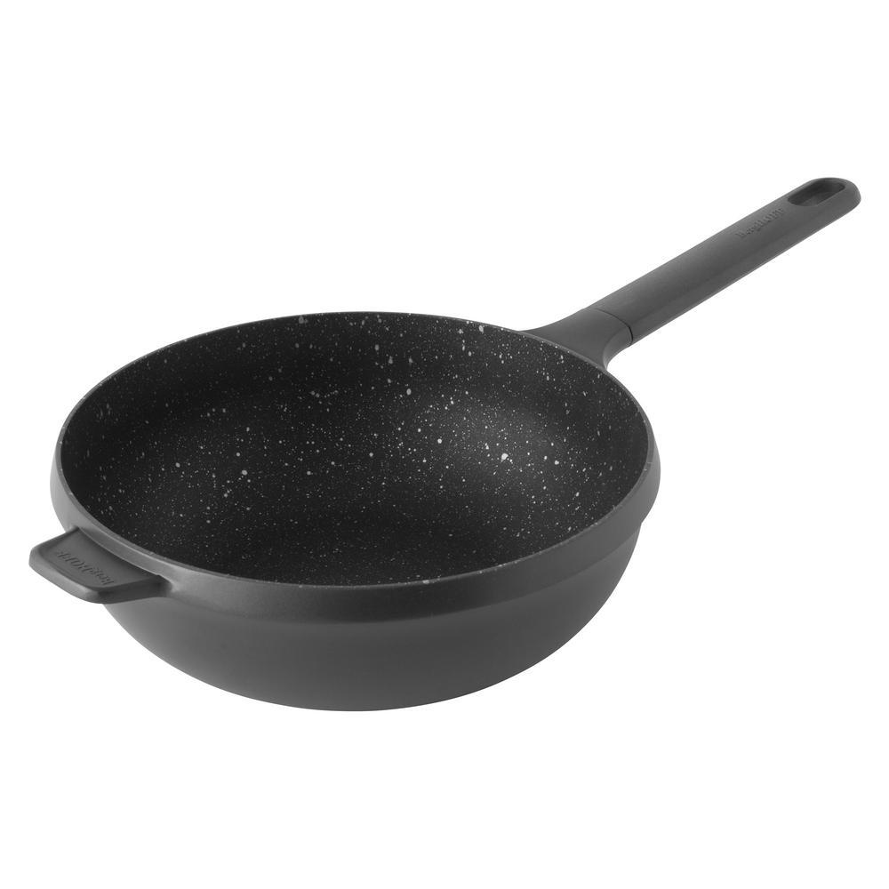 GEM Aluminum 10 in. Stir Fry Pan