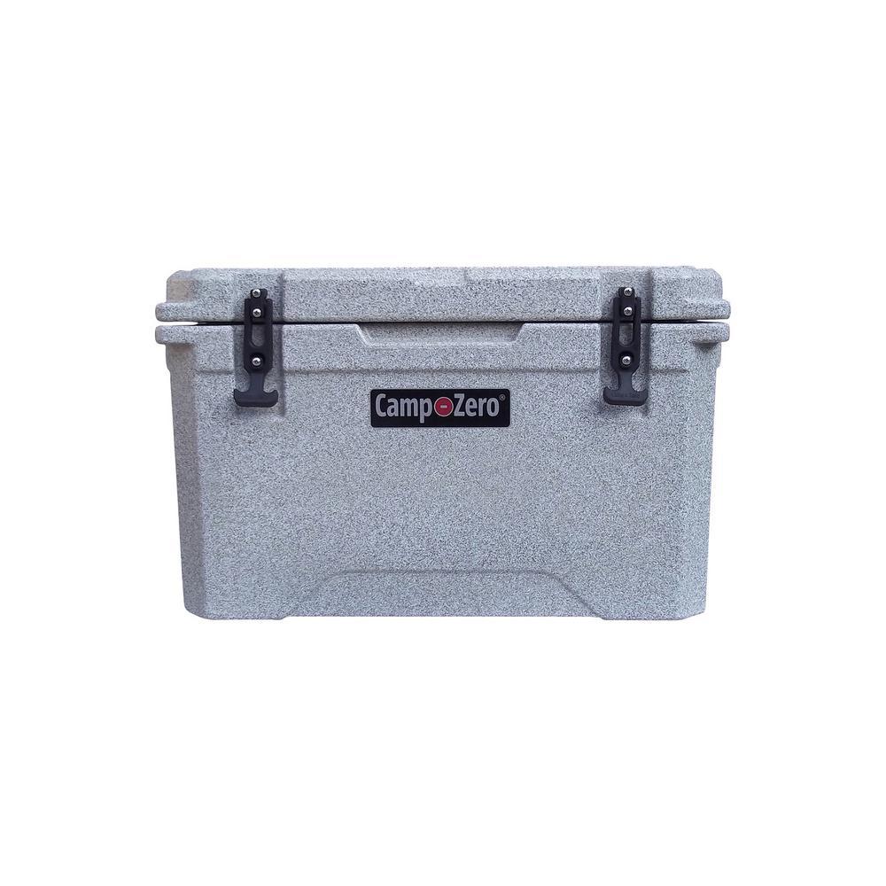 Camp-Zero 42 qt. 40 l Premium Cooler in Brown Granite