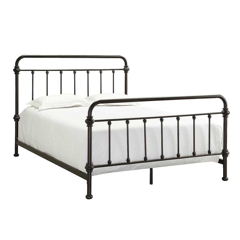 Homesullivan Calabria White Twin Bed