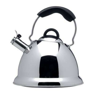 Designo 12.4-Cup Stainless Steel Whistling Kettle