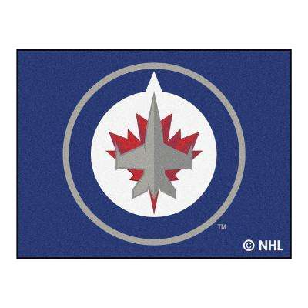 NHL Winnipeg Jets Navy 3 ft. x 4 ft. Area Rug