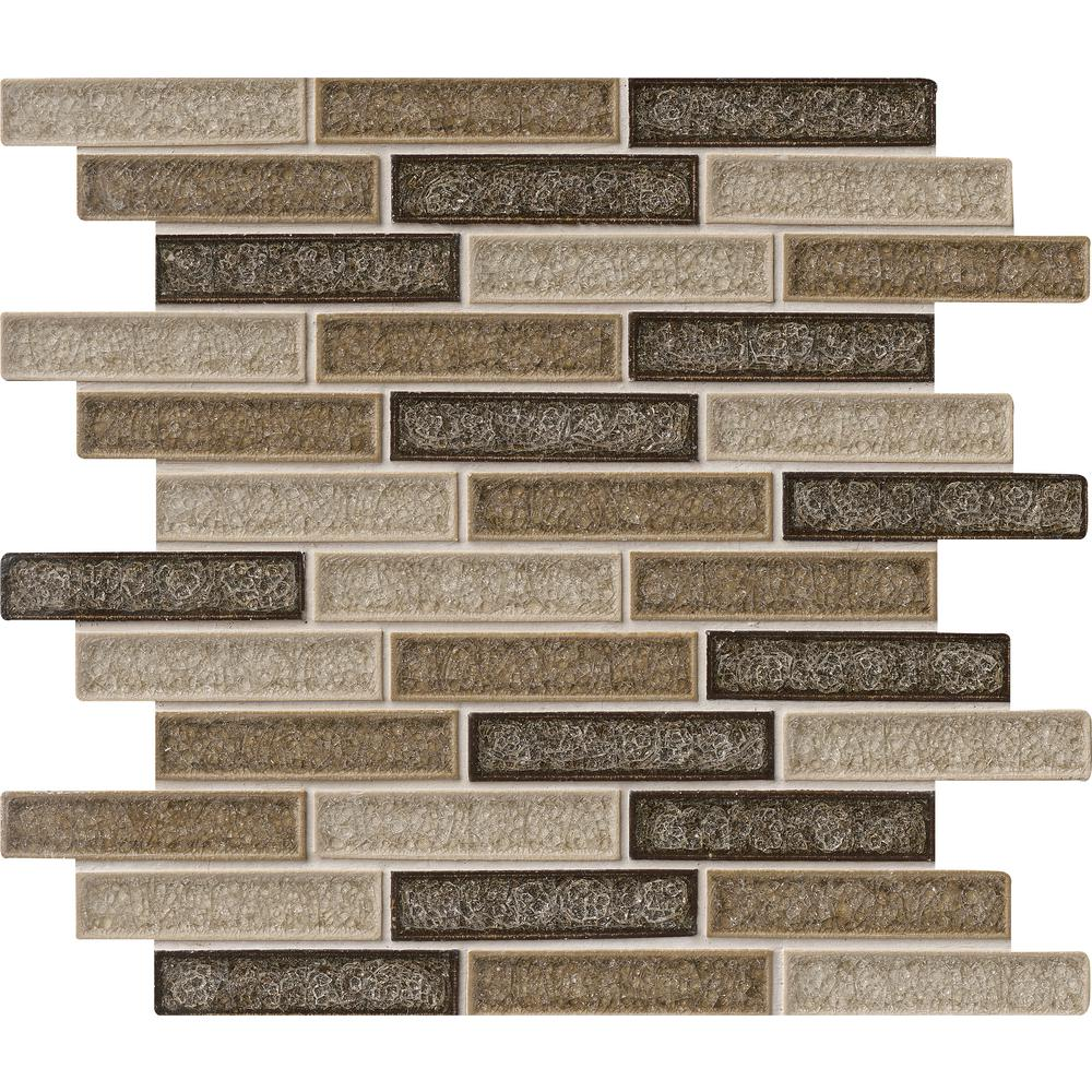 MSI Venetian Cafe 12 in. x 12 in. x 8mm Glass Mesh-Mounted Mosaic Tile (10 sq. ft. / case)