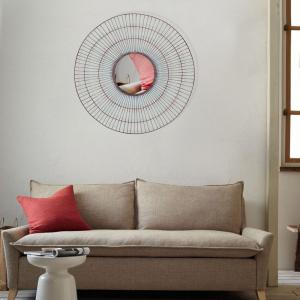 30 inch x 30 inch Round Metal Wall Decor by