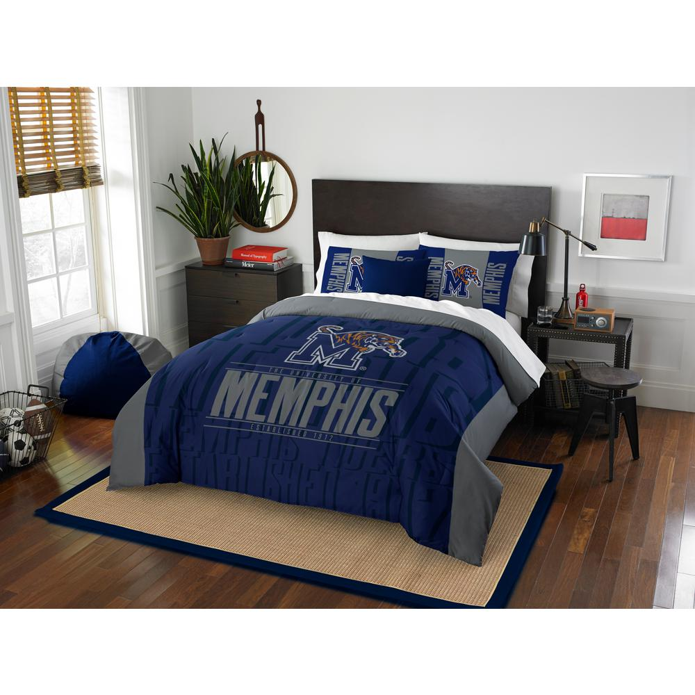 Memphis 3 Piece Modern Take Multi Full Queen Comforter Set