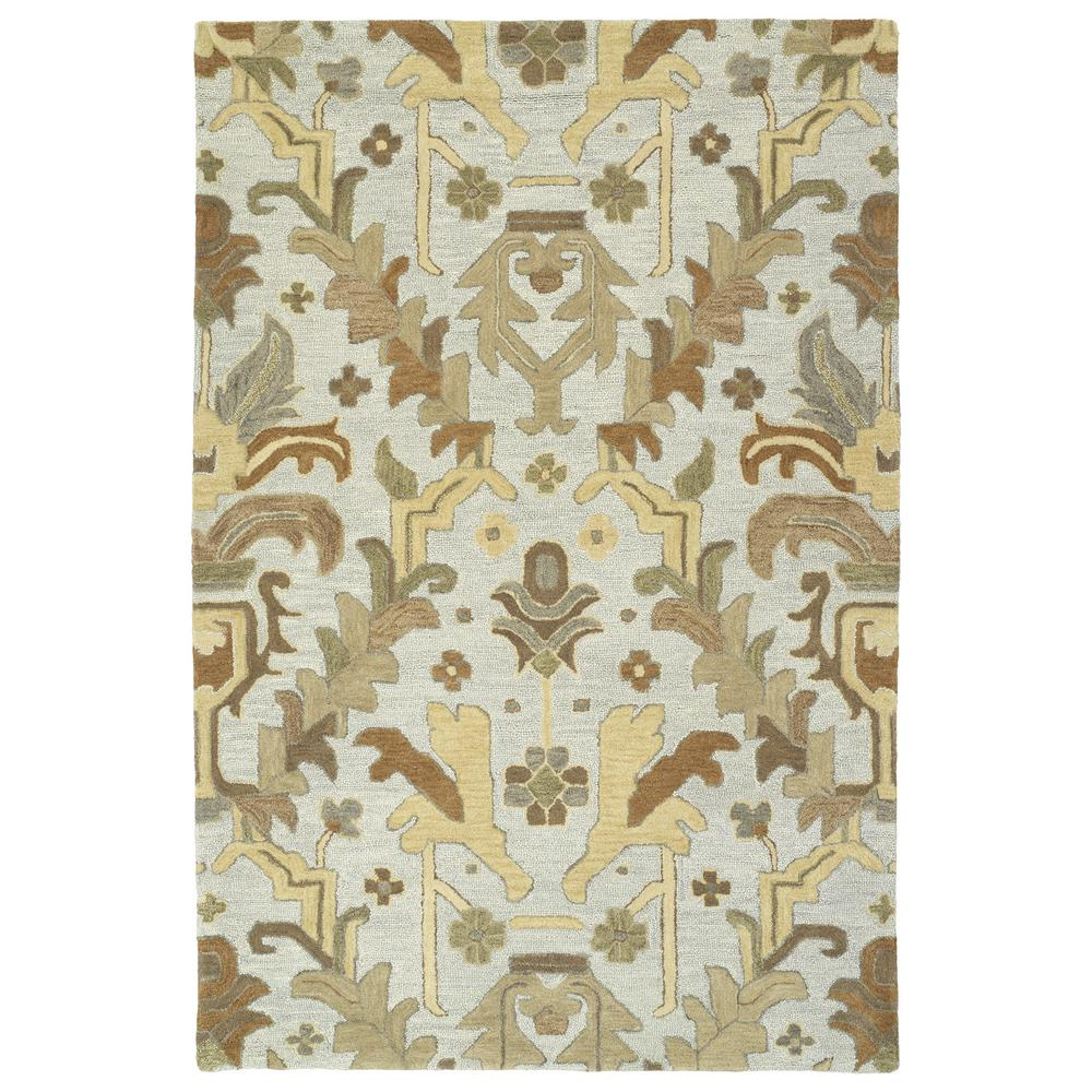 Brooklyn Silver 9 ft. 6 in. x 13 ft. Area Rug
