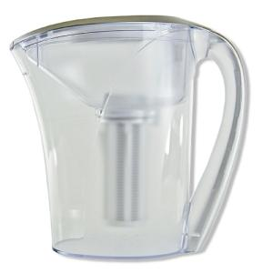 Click here to buy Clear2O 6-Glass Capacity Gravity Advanced Filter Water Pitcher by Clear2O.