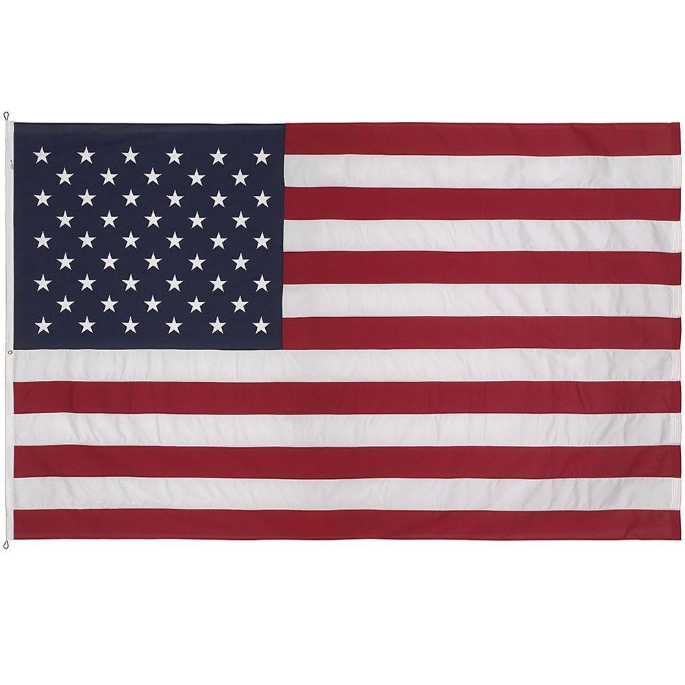 12 ft. x 18 ft. Polyester U.S. Flag
