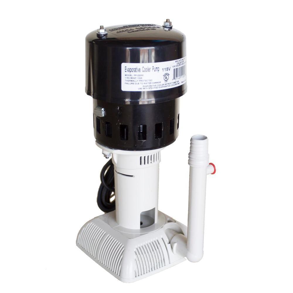 115-Volt 60Hz 21,000 CFM Evaporative Cooler (Swamp Cooler) Pump