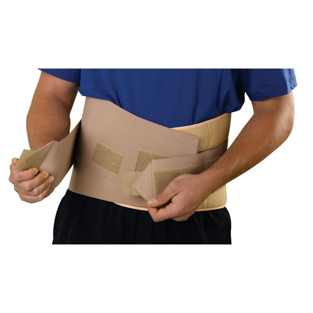 Curad Medium Back Support with Suspenders