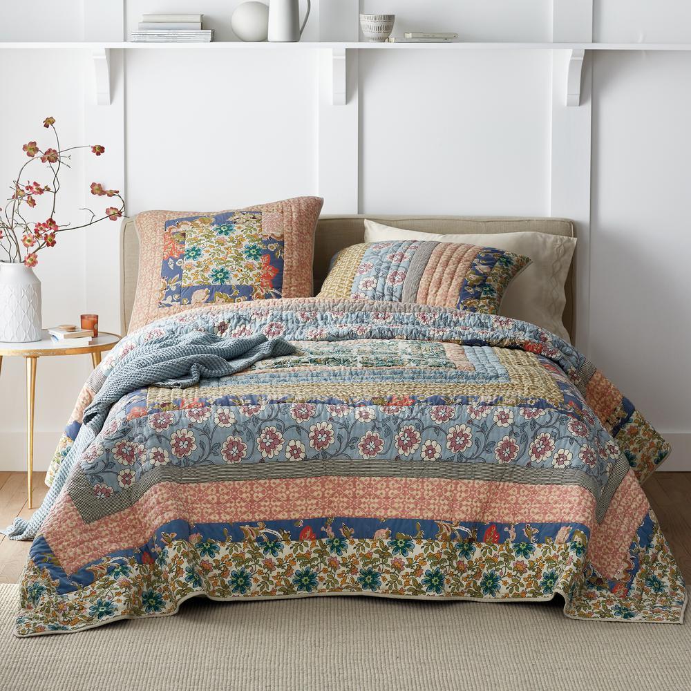 Langford Cotton Patchwork Quilt