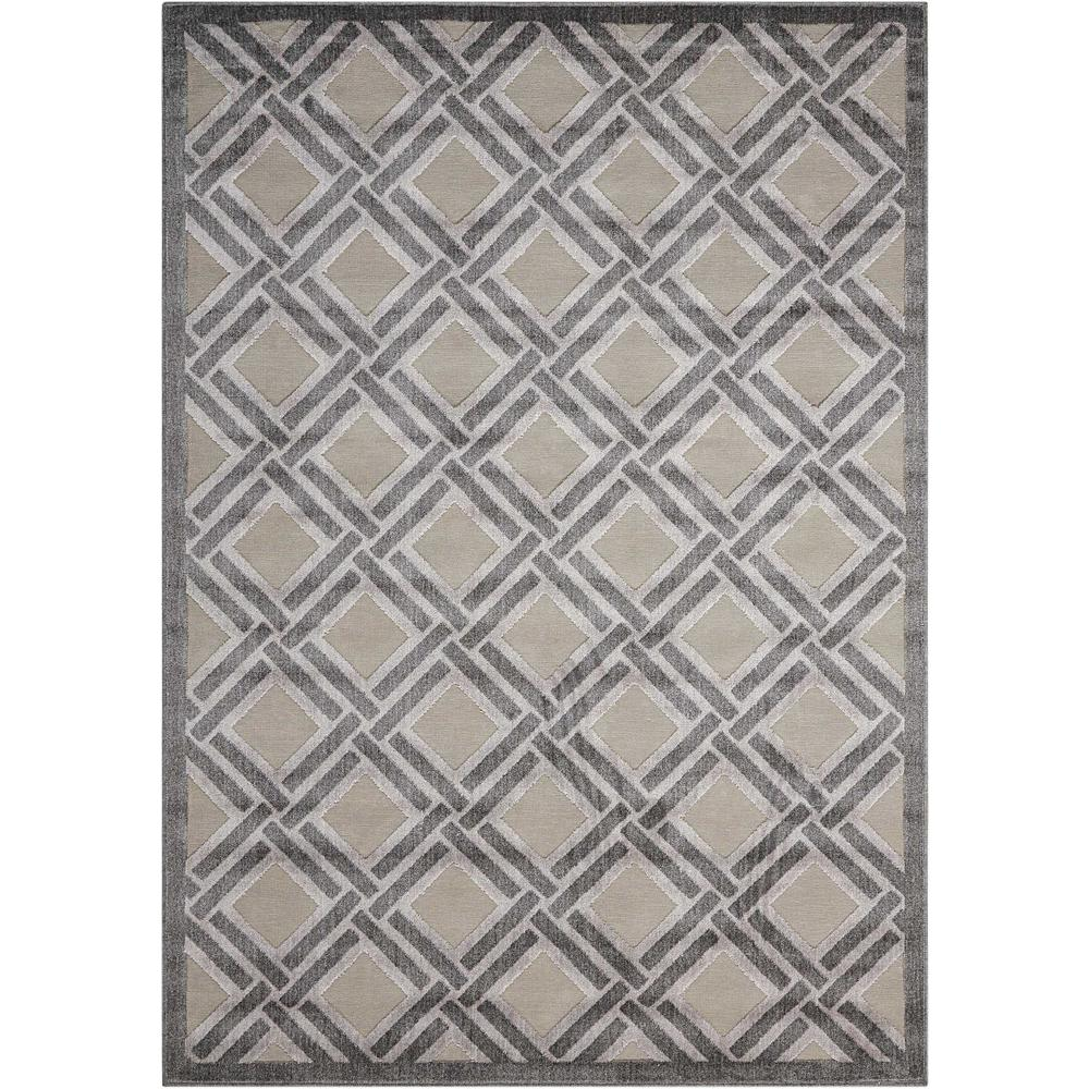 Graphic Illusions Grey 3 ft. 6 in. x 5 ft. 6