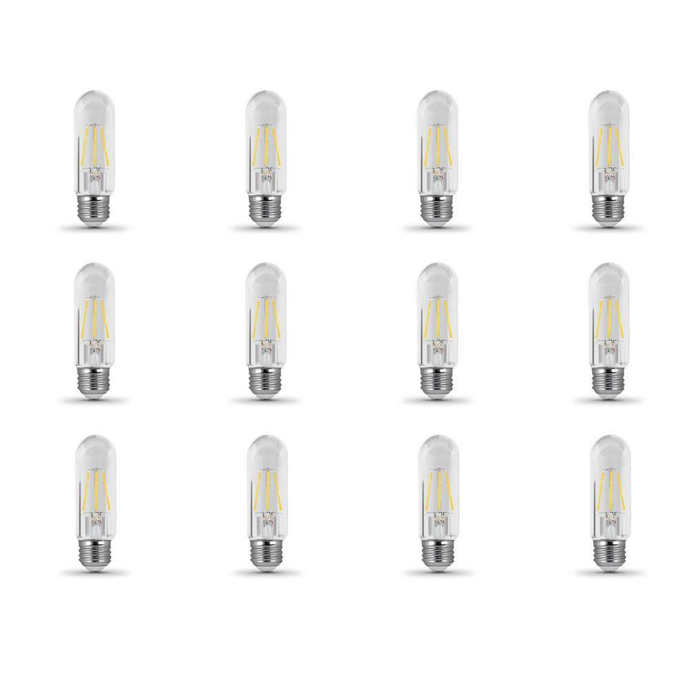 40-Watt Equivalent T10 Dimmable Filament LED 90+ CRI Clear Glass Light