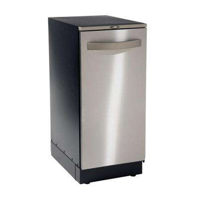 Elite XE Automatic 15 in. Built-In or Freestanding Trash Compactor in Stainless Steel