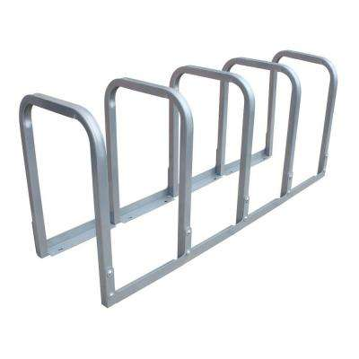 U-Lockit 10-Bike 66 in. Galvanized Bike Rack