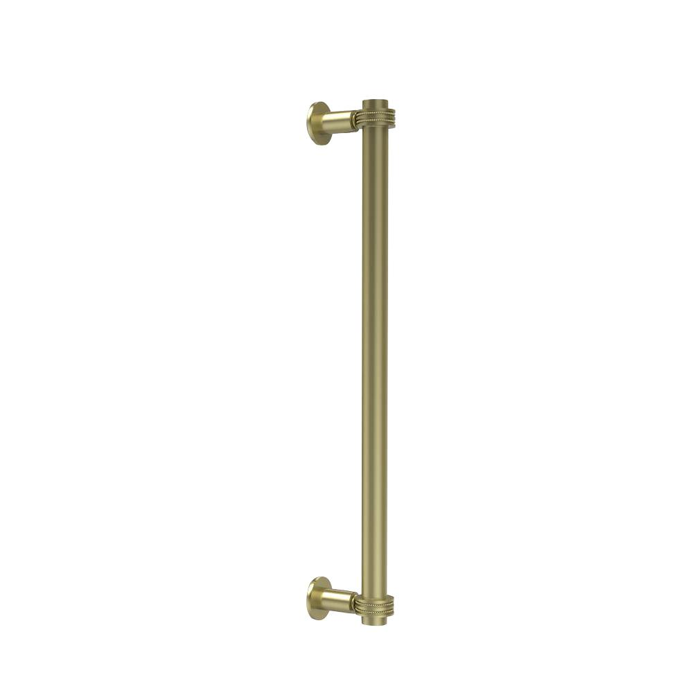 Contemporary 18 in. Back to Back Shower Door Pull with Dotted