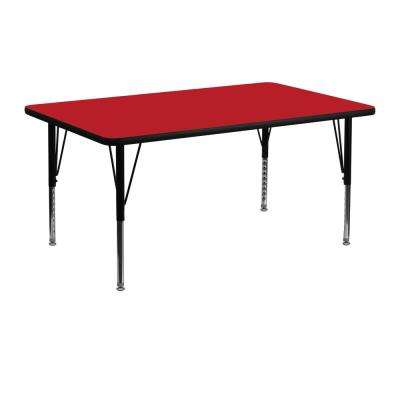Red Activity Table