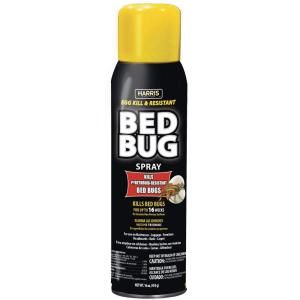 Bed Bug Spray Home Depot >> Harris Egg Kill and Resistant Bed Bug Spray-BLKBB-16A - The Home Depot