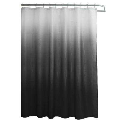 W X 72 In L Shower Curtain With Metal