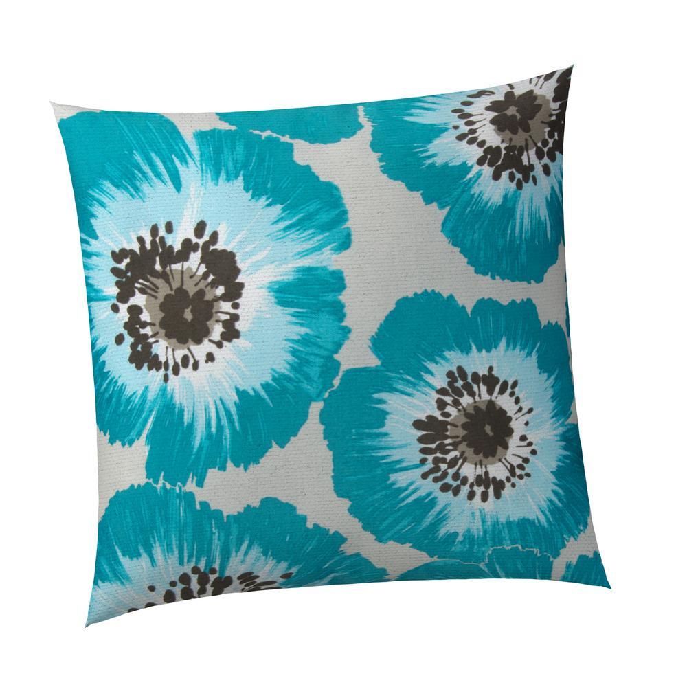 Laguna Square Outdoor Throw Pillow