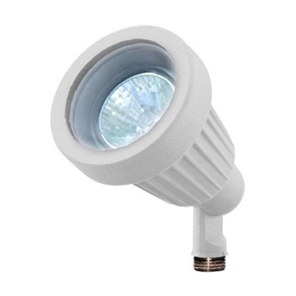 Skive 1-Light White Outdoor Directional Spot Light