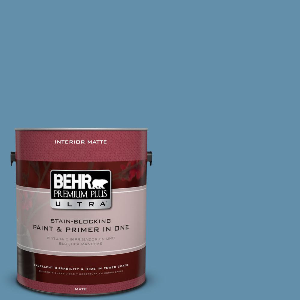 BEHR Premium Plus Ultra 1 gal. #S500-5 Treasure Map Matte Interior Paint