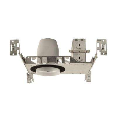 3 in. Aluminum LED Recessed New Construction Housing, IC-Rated Airtight IDEAL T24