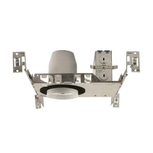 Nicor 3 In Aluminum Led Recessed New Construction Housing Ic Rated Airtight Ideal T24 13200a Led The Home Depot