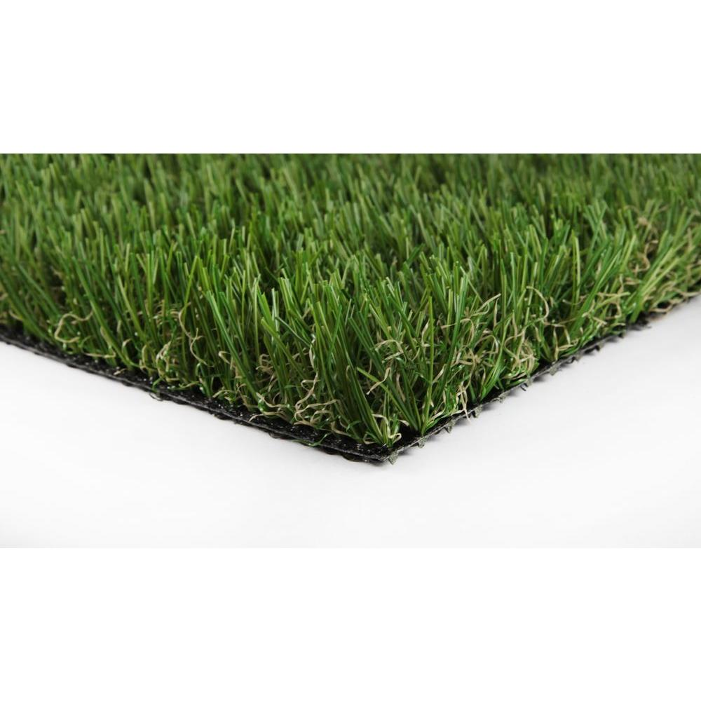 GREENLINE Classic 54 Fescue 7.5 ft. x 10 ft. Artificial Synthetic Lawn Turf Grass Carpet for Outdoor Landscape