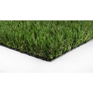 Classic 54 Fescue Artificial Grass Synthetic Lawn Turf Carpet for Outdoor Landscape 7.5 ft. x Customer Length