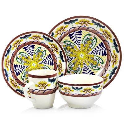 Countryside Sunrise 16-Piece Dinnerware Set