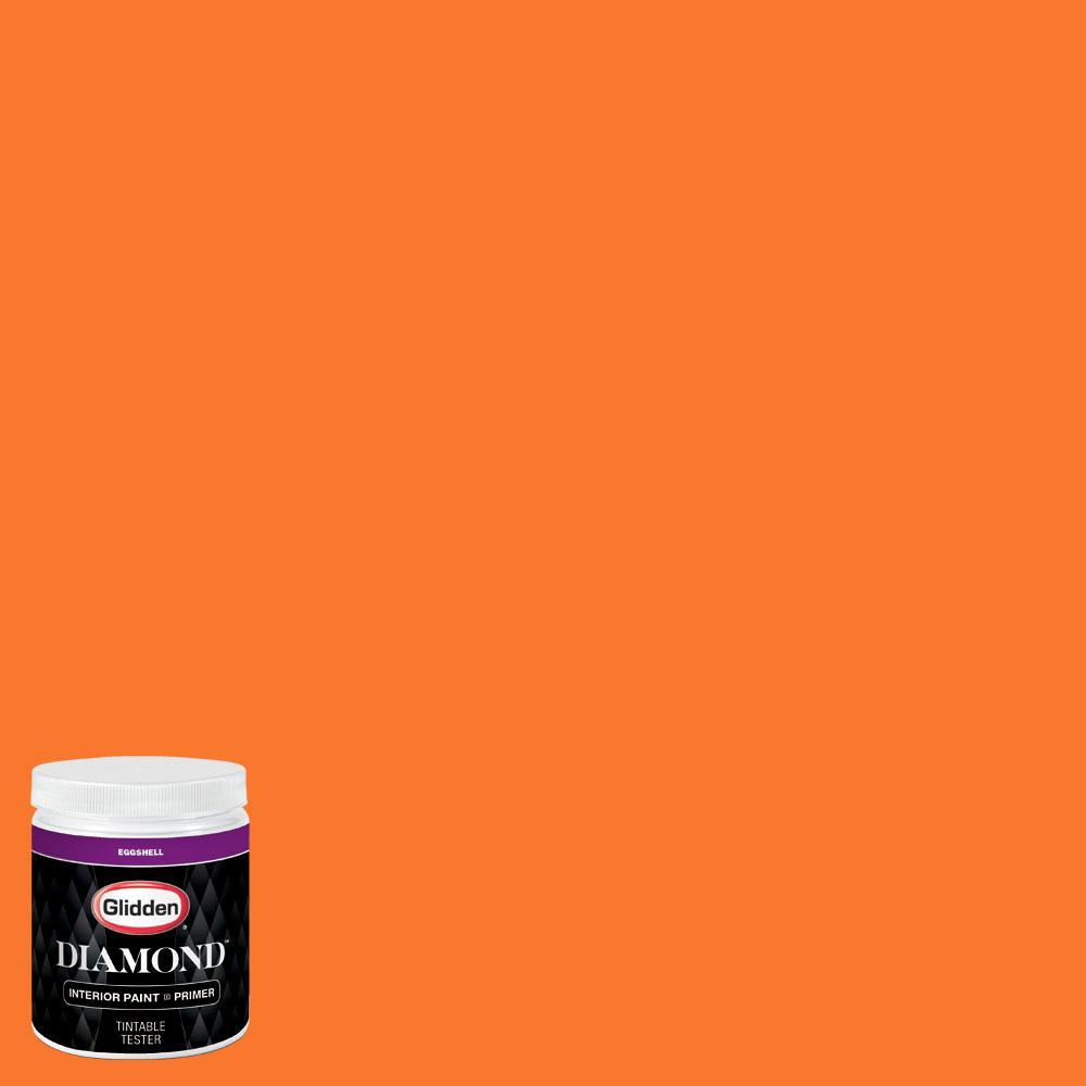 Nfl 175g Miami Dolphins Light Orange Eggshell Interior Paint